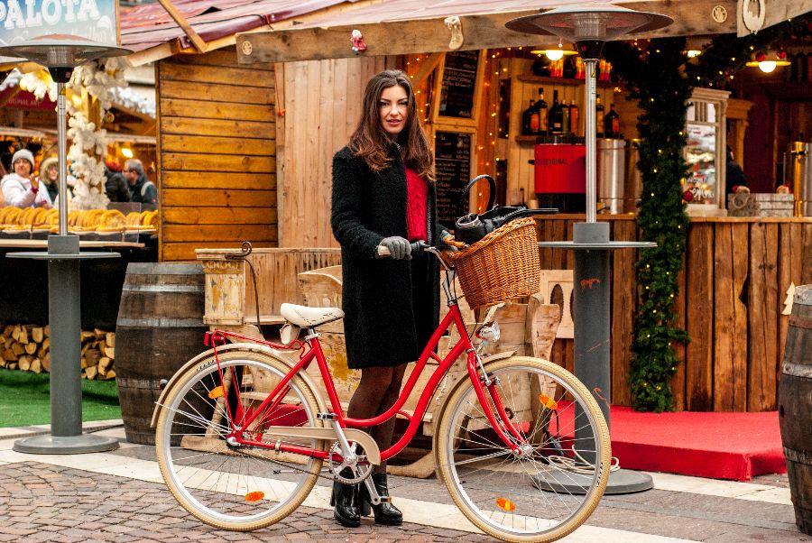 4. Kép: Klasszikus Piros Városi Vintagebringa