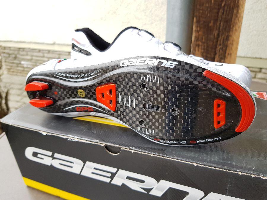 6. Kép: ÚJ Gaerne damilos Carbon talpú országúti cipő