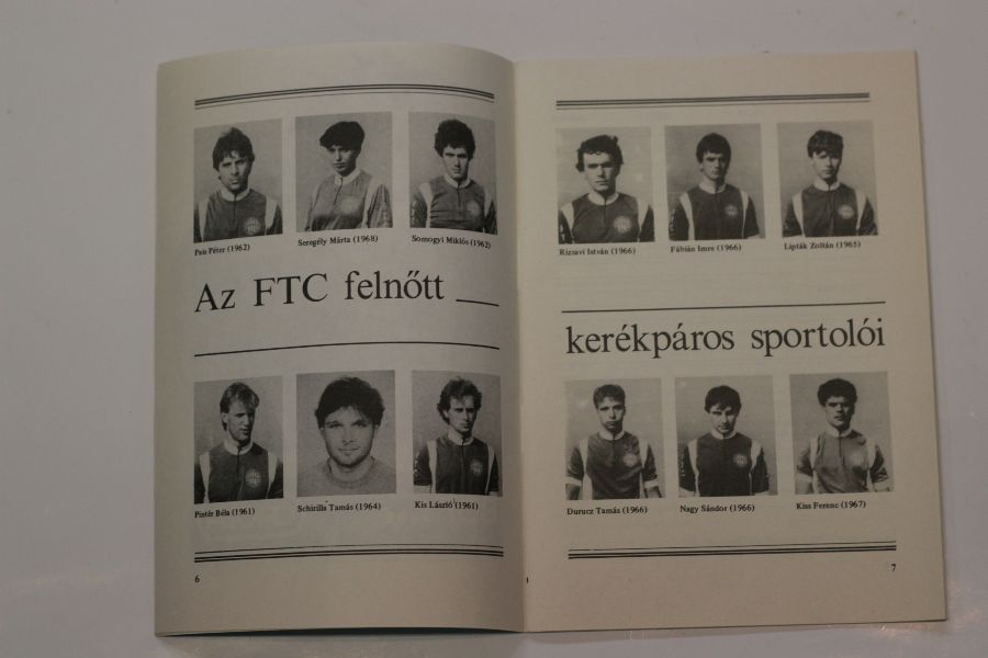 3. Kép: Arany Mokka XIII. G.P. 1985 Június 12-13 FTC