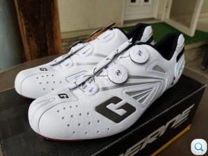 1. Kép: ÚJ Gaerne damilos Carbon talpú országúti cipő